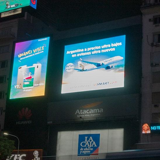 pantallas led publicidad atacama